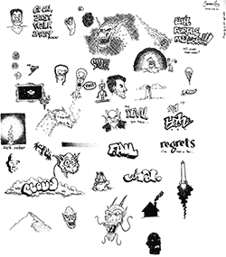 Ink doodles thumbnail